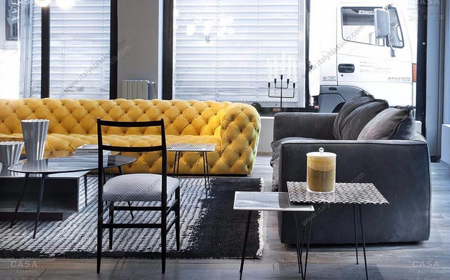 意大利现代客厅品牌家具baxter家具-意大利之家图片