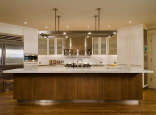 ,厨房,现代,简约,原木色,白色,