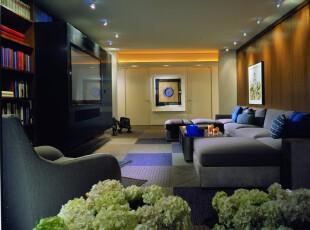 ,客厅,简约,黄色,紫色,