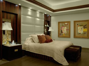 ,当代风格,卧室,