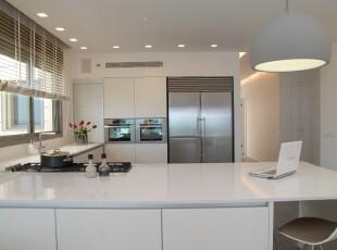 ,厨房,现代主义,白色,
