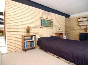 ,卧室,简约,小资,蓝色,黄色,