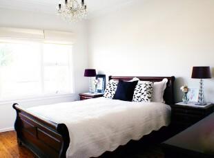 ,卧室,欧式,黑白,
