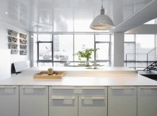 ,厨房,现代,简约,白色,