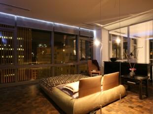 ,卧室,现代,简约,黑白,