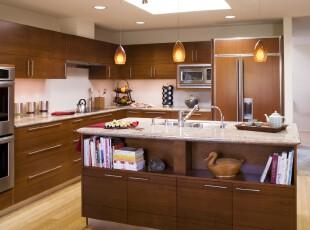 ,厨房,灯具,中式,原木色,