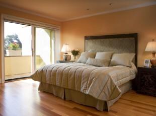 ,卧室,现代,简约,黄色,