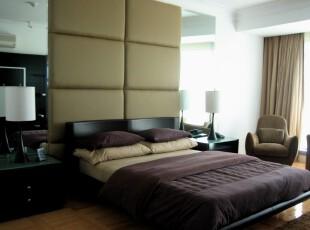 ,卧室,现代,绿色,