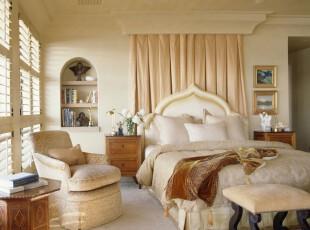 ,卧室,欧式,小资,白色,