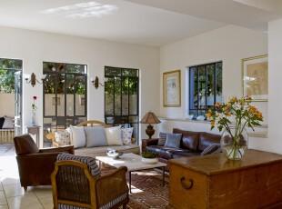 ,客厅,墙面,中式,原木色,白色,