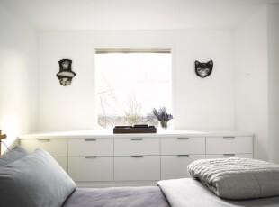 ,卧室,现代,简约,小资,黑白,