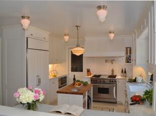 ,厨房,小资,简约,白色,