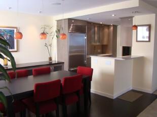 中式风格餐厅,餐厅,灯具,过道,中式,红色,黑白,