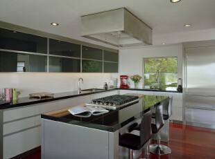,厨房,现代,简约,宜家,黑白,