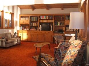 ,客厅,欧式,原木色,白色,