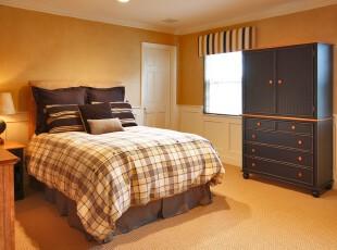 ,卧室,窗帘,中式,黄色,黑白,
