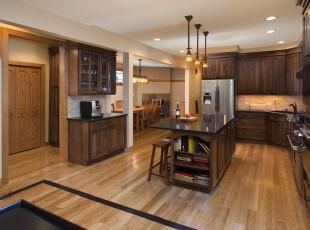 ,厨房,灯具,欧式,原木色,