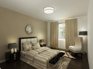 ,卧室,现代,黑白,