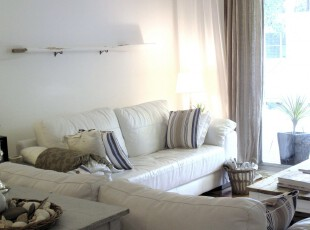 ,客厅,现代,小资,白色,