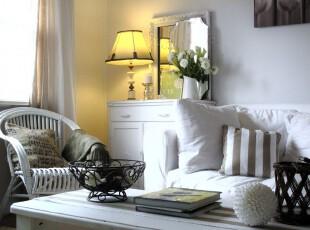 ,客厅,简约,小资,白色,