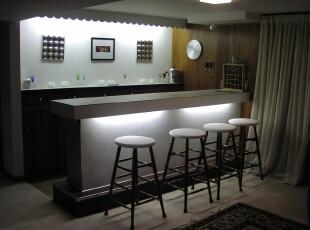 ,吧台,墙面,现代,黑白,