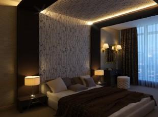 ,卧室,墙面,灯具,窗帘,日式,原木色,白色,