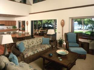 海边风格客厅,热带风情,客厅,