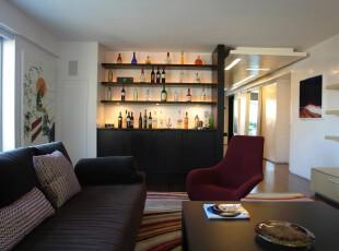 注重生活品位的现代风格,客厅,现代,黑白,