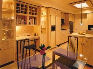 现代简约的厨房,厨房,现代,简约,黄色,