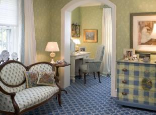 地中海风格休息室