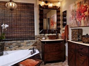 古香古色中式卫生间