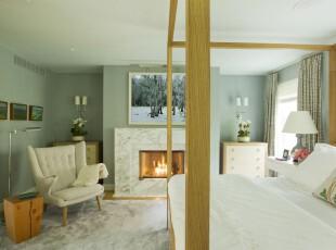 简约素雅的卧室,在这个明亮的卧室里看书、安睡,都会觉得轻松舒适。,卧室,灯具,简约,蓝色,白色,