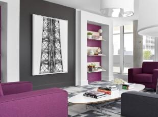 ,现代主义,客厅,