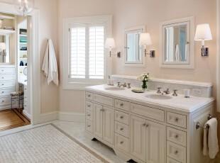 白色系简约式卫生间,简洁、干净、素雅。,卫生间,简约,小资,墙面,灯具,白色,粉色,