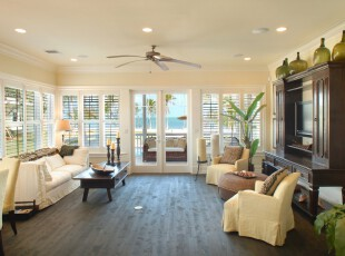 ,热带风情,客厅,