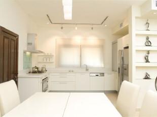 ??????????????????,厨房,现代,白色,餐台,