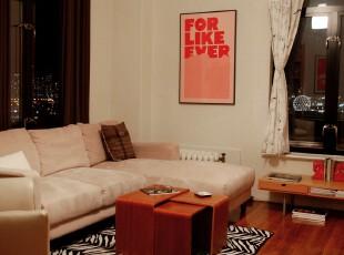 ,折中主义,客厅,