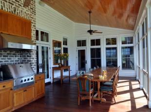 现代开放式餐厅,正好在大型窗户旁边,采光条件优越,在明媚的阳光下进食心情会更加愉悦。,餐厅,餐台,现代,原木色,白色,