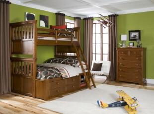 ,当代风格,儿童房,