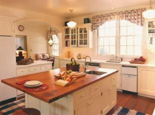 ,厨房,田园,白色,