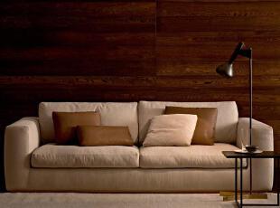 主要材质:E1环保优质松木/硬木+高密度慢回弹海绵+高品质太空棉靠包+可拆洗沙发套(布料三色可选),现代主义,沙发,