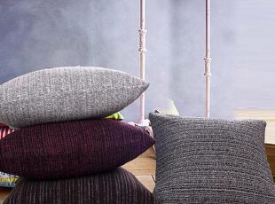 品牌: 卧欣 类型: 靠垫/抱枕(含芯) 颜色分类: 紫红 咖啡 深灰 浅灰,传统格调,靠垫,