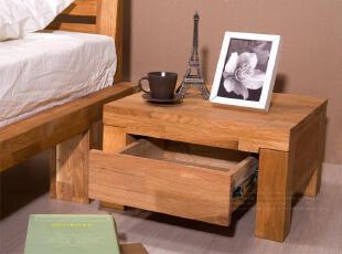 淳朴敦厚的一款床头柜 安静中洋溢生命的律动 让梦的家园 充满森林的气息,传统格调,床,