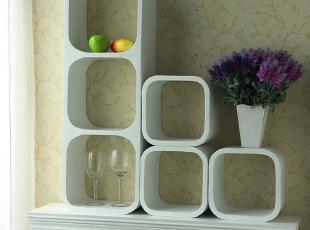 可以搭配墙贴类产品让墙面更丰富多彩,现代主义,壁架,