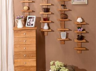 实用、小巧而适用空间广泛的一款小搁架 三层 四层 五层 六层 满足不同级别的装饰、收纳及展示需要 简约的造型 淳朴扎实的橡木质材 给家多一份安宁,现代主义,壁架,