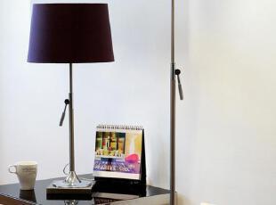 品牌: Jun You Light 型号: TR623 灯身材质: 铁艺 颜色分类: 闪亮白-单独落地灯 优雅紫-单独落地灯 灯罩材质: 布艺 光源类型: 白炽灯 节能灯 LED,现代主义,灯具,