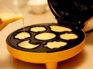 蛋糕机 电饼铛/可丽饼机 卡通面包机 送面粉搅拌器送面粉300g,现代主义,厨房电器,