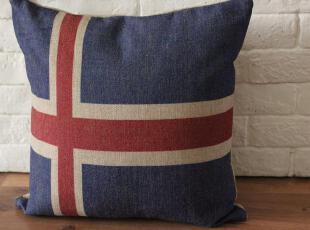 规格:45*45CM  面料:棉麻(帆布手感)  外单才有的高级棉麻和帆布,非常厚实,质地极好  做旧复古风,很具怀旧调调,地中海风情,靠垫,