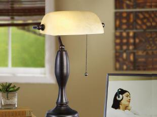 【尺寸】:直径270mm*  高度500mm*  【材质】:铁艺+云石玻璃   【灯泡】:E27灯头  一个灯泡  【适用范围】:客厅,卧室,书房等,传统格调,灯具,