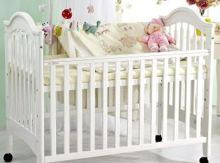 颜色分类: 白色维纳斯实木床尊享高品质生,现代主义,婴儿床,